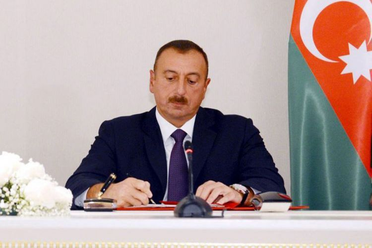 Azerbaijani President signs order on additional measures for continuation of  major overhaul of roads in Binagadi