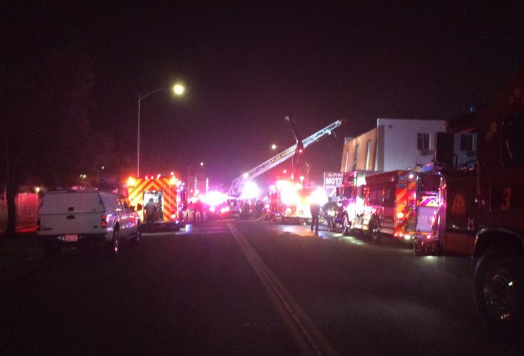 6 dead as fire hits apartment in Las Vegas