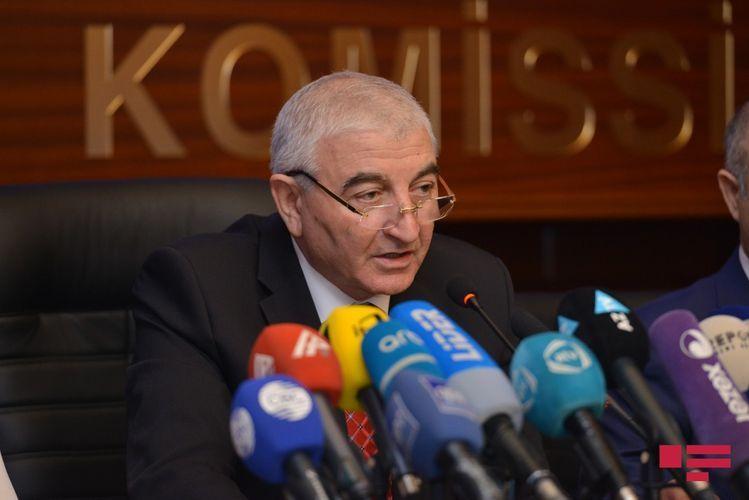 Председатель ЦИК Азербайджана призвал  избирателей быть активными на выборах