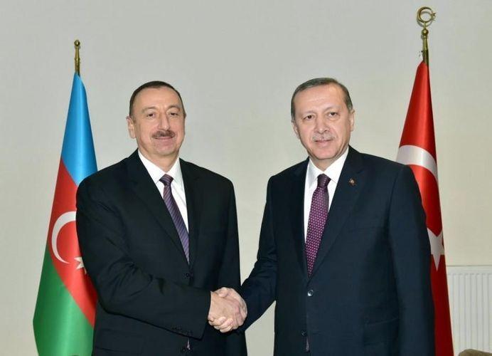 Recep Tayyip Erdogan made a phone call to President Ilham Aliyev