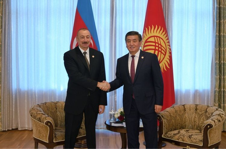 Kyrgyz President made a phone call to President Ilham Aliyev