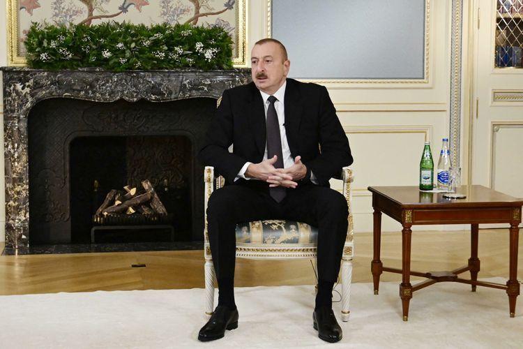 Президент: Власть тандема НФА-Мусават была для нас периодом национального позора
