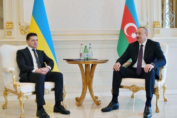 Volodymyr Zelensky congratulates Azerbaijani President
