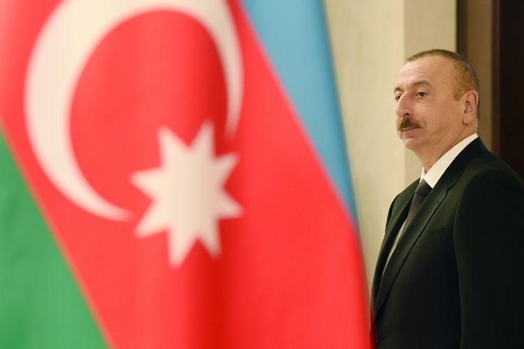 Chairman of Motor Oil Hellas and Vegas Oil and Gas companies congratulates Azerbaijani President