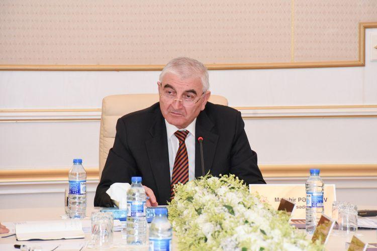 Мазахир Панахов: Будет принято соответствующее решение в связи с поступившими в ЦИК и распространенными в социальных сетях кадрами