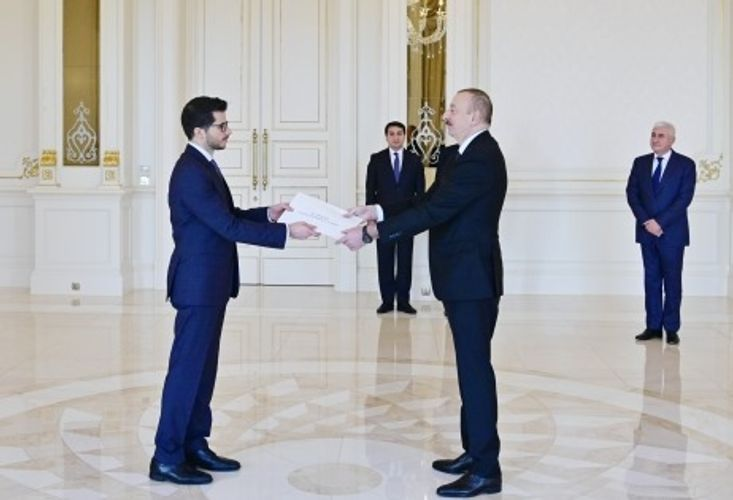 Azerbaijani President receives credentials of incoming Israeli Ambassador - <span class=