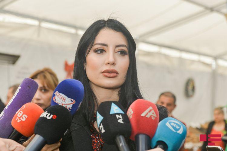 """Leyla Məmmədova: """"Yarmarkalar vasitəsilə bazarda ərzaq qiymətlərinə müsbət təsir göstərməyə çalışırıq"""""""