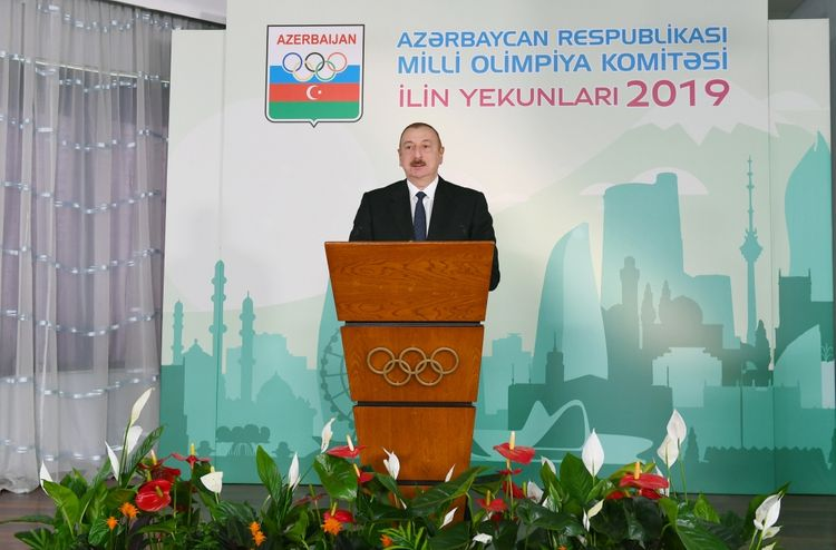 President Ilham Aliyev attended ceremony dedicated to 2019 sporting results - UPDATED