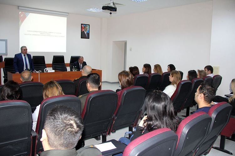 A seminar was held at the Main Clinical Hospital of the Armed Forces
