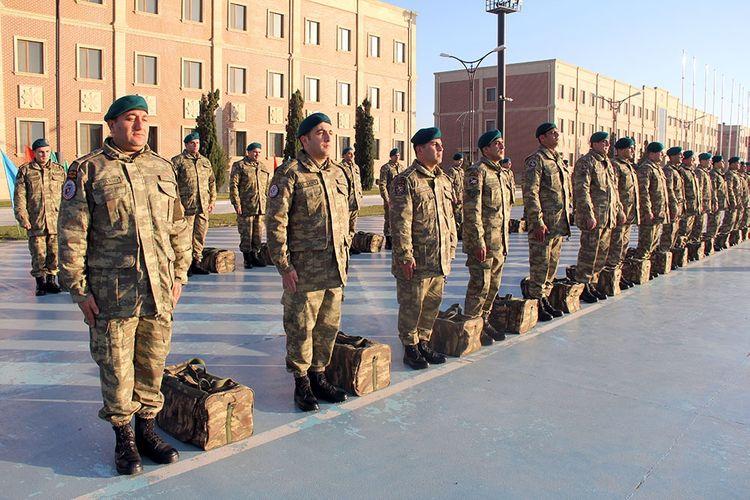 Group of Azerbaijani peacekeepers returned from Afghanistan  - <span class=