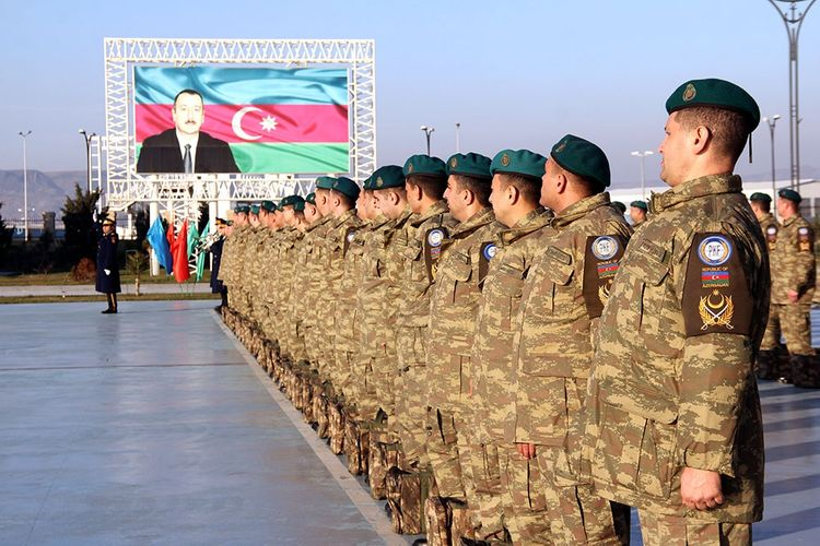 Group of Azerbaijani peacekeepers returned from Afghanistan  - <span class='red_color'>VIDEO</span>