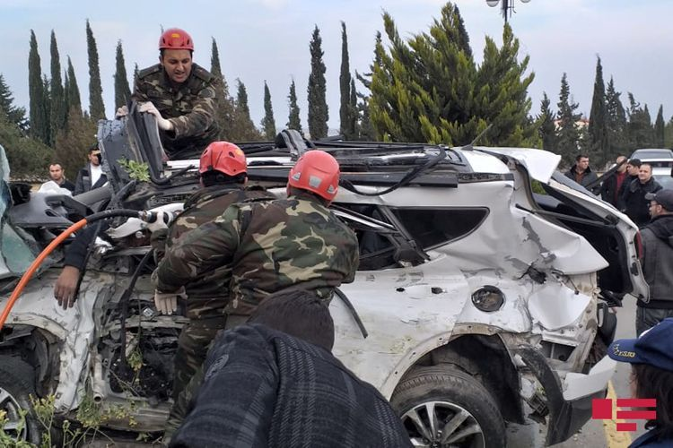 Стали известны имена погибших в автокатастрофе в Ширване - ФОТО - ВИДЕО - ОБНОВЛЕНО