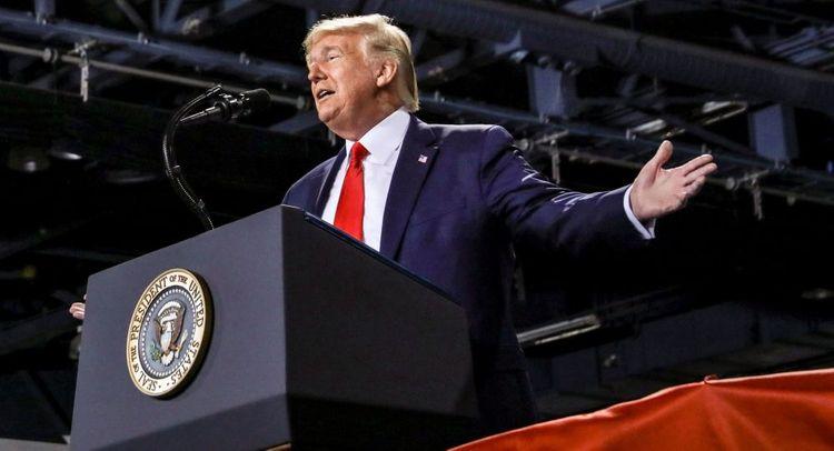 Trump calls for fight against