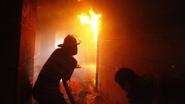 Rusiyada yanğında ata və iki azyaşlı övladı ölüb