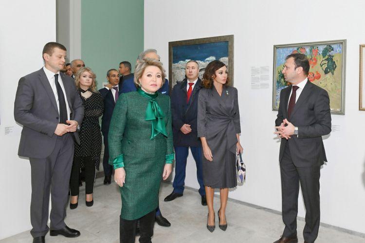 Мехрибан Алиева приняла участие в открытии павильона «Азербайджан» после реконструкции на ВДНХ - ОБНОВЛЕНО