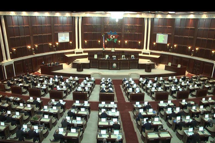 Внесены изменения в повестку сегодняшнего пленарного заседания Милли Меджлиса