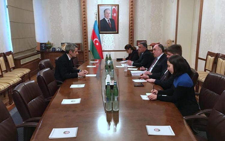 Azerbaijani FM receives newly appointed ambassador of France to Azerbaijan