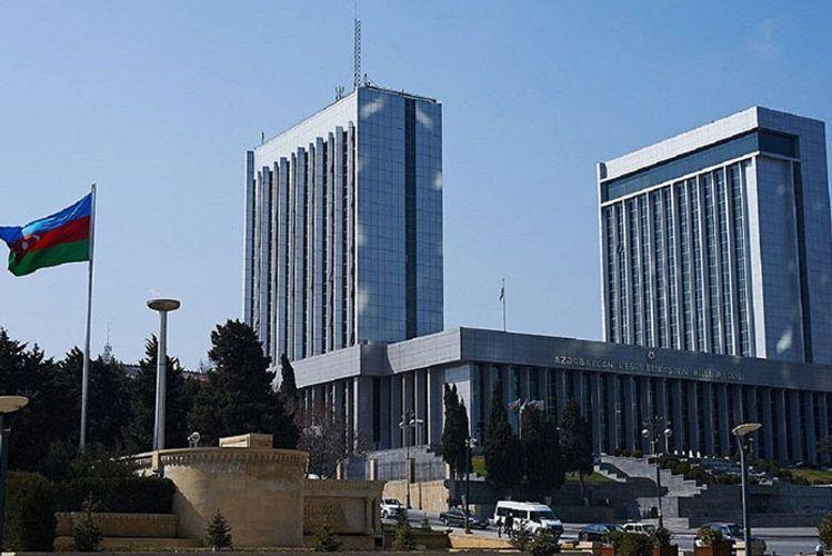 Стала известна повестка пленарного заседания Милли Меджлиса, которое пройдет 29 ноября