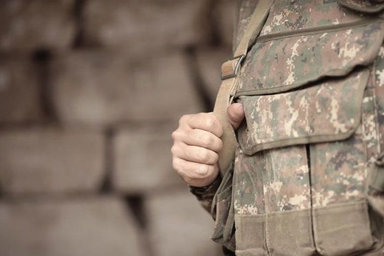 Hanged body of soldier found in Armenia