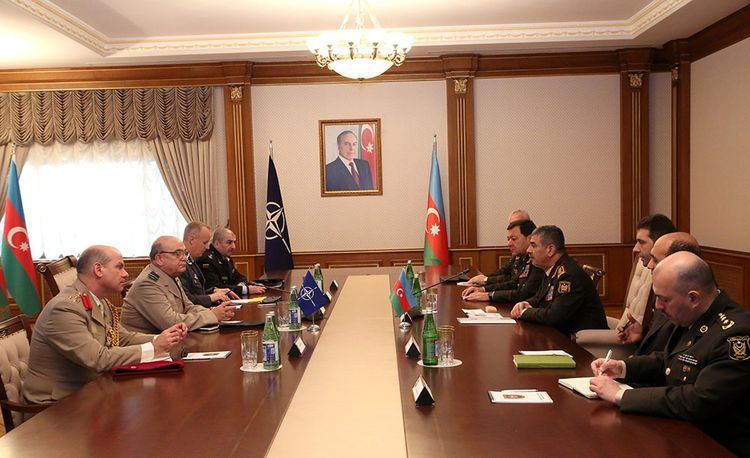 "Stuart Peach: ""NATO supports Azerbaijan"