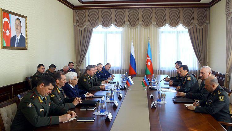 Состоялась встреча начальников генштабов ВС Азербайджана и РФ
