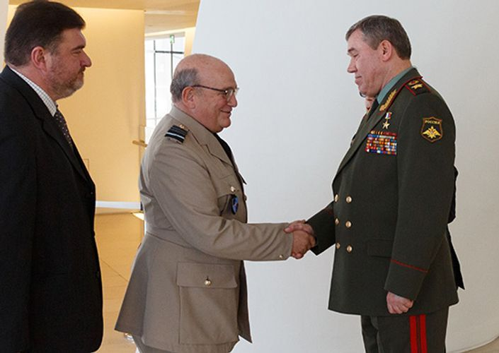Meeting of Chief of General Staff of Russian Armed Forces and Chairman of NATO Military Committee takes place in Baku  - <span class=