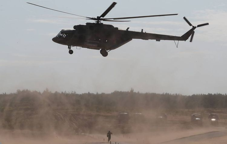 Russia hands over two Mi-8MT multirole helicopters, radars to Kyrgyzstan for free