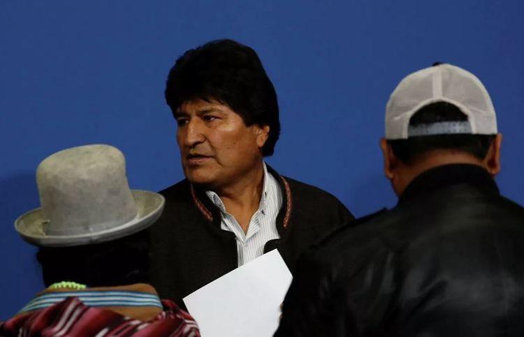 Boliviya Evo Moralesi İnterpol xətti ilə axtarışa verib