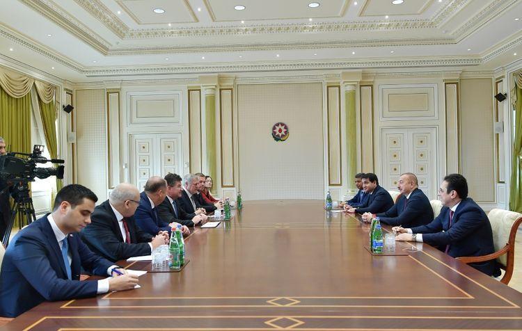 Президент Ильхам Алиев принял министра иностранных и европейских дел Словакии - ОБНОВЛЕНО