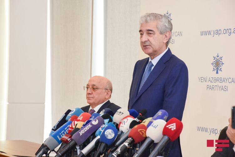 Али Ахмедов: Формирование парламента из патриотичной молодежи будет в центре нашего внимания