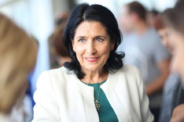 Gürcüstan prezidentinin Ukraynaya səfəri 2020-ci ilədək təxirə salınıb
