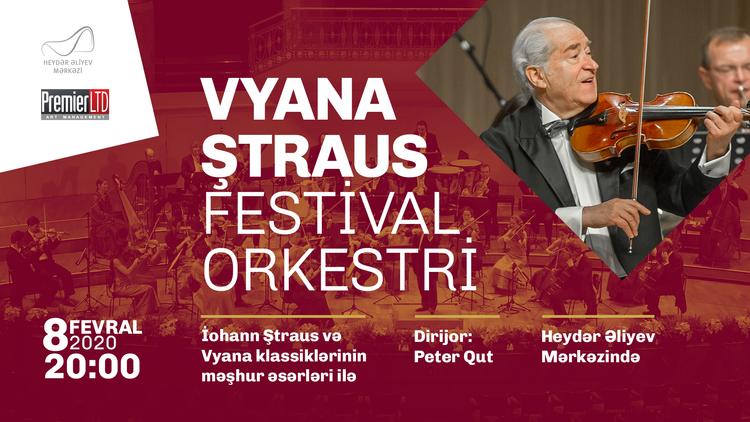 Vyana Ştraus Festival Orkestri Heydər Əliyev Mərkəzində çıxış edəcək