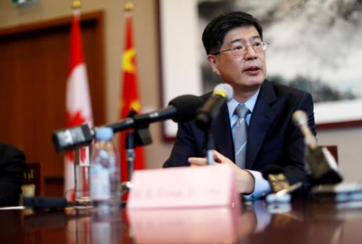 Chinese envoy to Canada visits detained Huawei CFO, urges Ottawa to correct