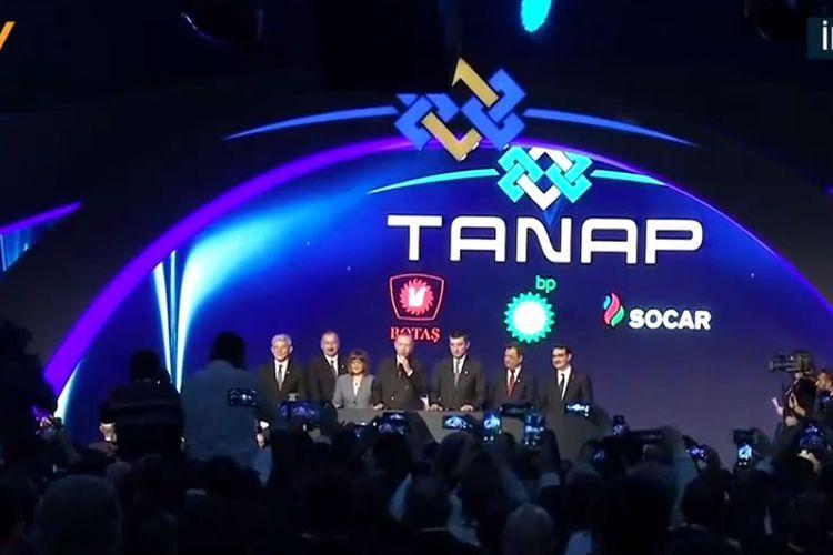 В Турции прошла церемония открытия части проекта TANAP, которая будет соединена с Европой  - ОБНОВЛЕНО-1