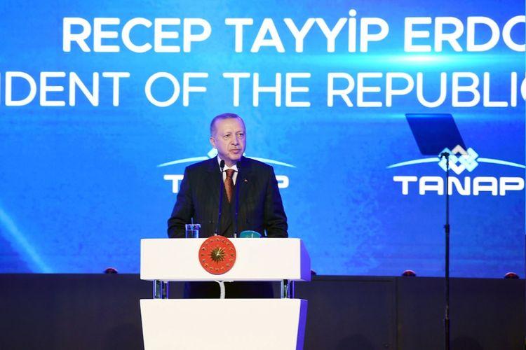 """Ərdoğan: """"TANAP-la Avropanın enerji təhlükəsizliyinə töhfə verəcəyik"""""""