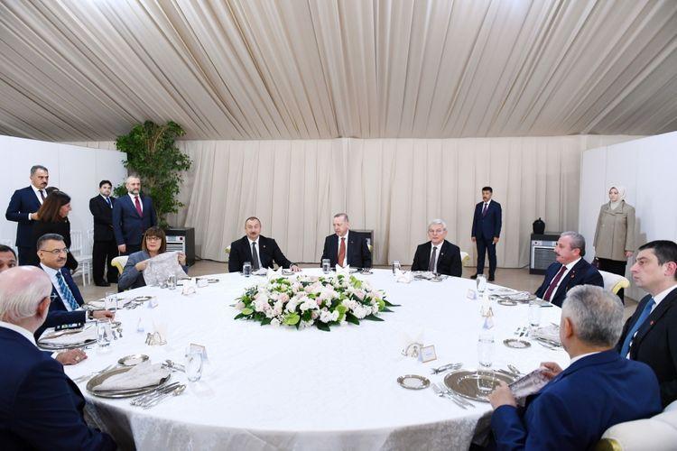Состоялся прием в честь участников церемонии открытия части проекта TANAP, которая будет соединена с Европой