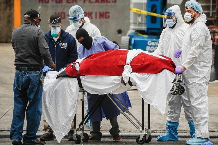 В США число умерших из-за коронавируса превысило 4 тысяч человек - ОБНОВЛЕНО-1