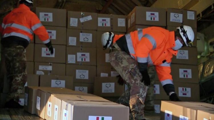 Koronavirusla mübarizə çərçivəsində Rusiya ABŞ-a tibbi yardım göndərib