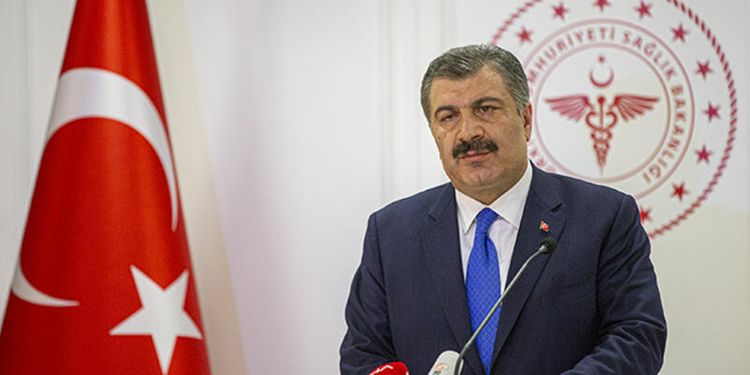 Turkey reports 63 coronavirus-related death in the last 24 hours