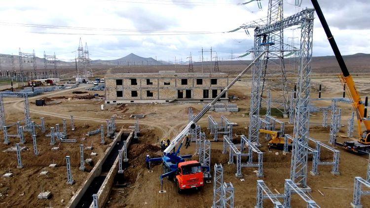 «Азерэнержи» реконструирует самую большую стратегически важную подстанцию страны