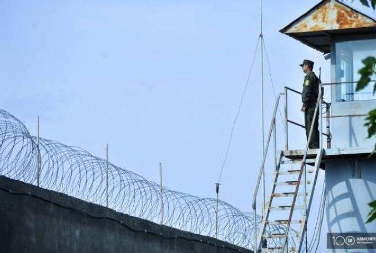 Five prison guards test positive for coronavirus in Armenia