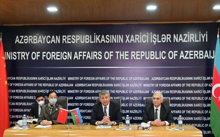 Состоялась церемония передачи Азербайджану медицинских средств из Китая