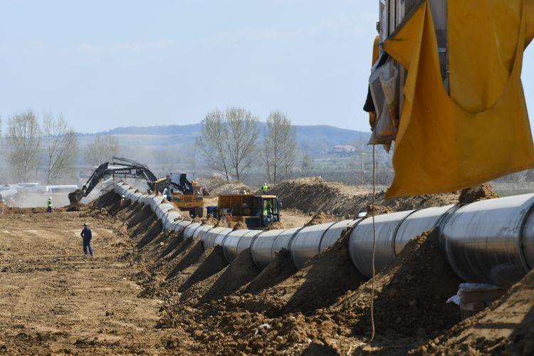 Завершается строительство части газопровода TAP в Албании