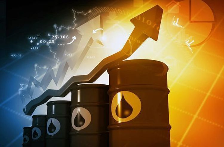 Brent price increases by more than 15%