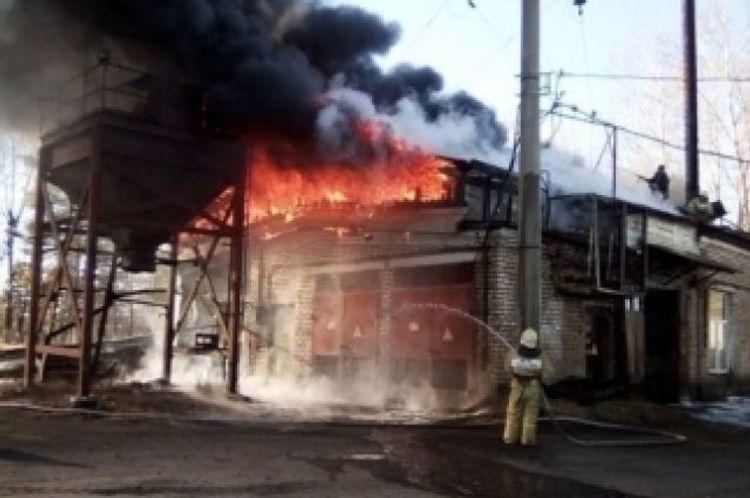 При пожаре в котельной в Украине погибли четыре человека
