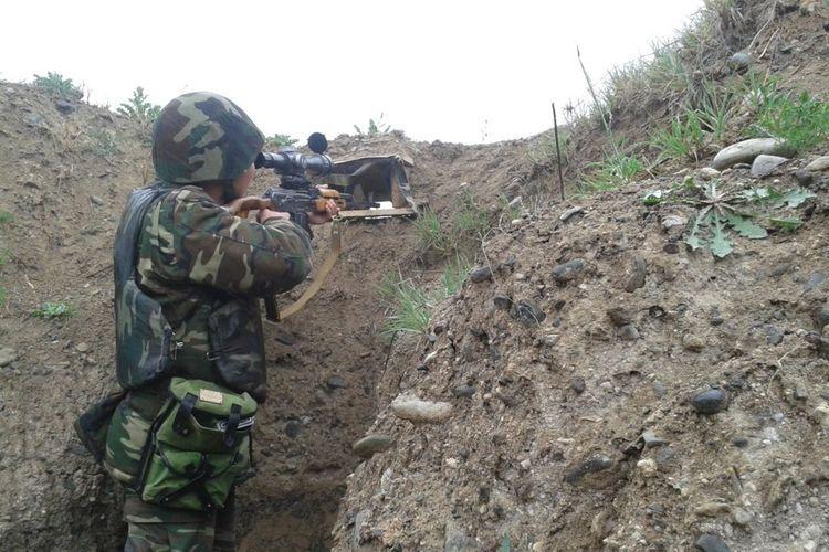 Ermənistan Silahlı Qüvvələri Qazax rayonunun kəndlərini atəşə tutub
