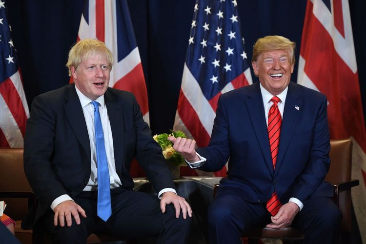 """US President: """"""""All Americans"""" are praying for Johnson"""