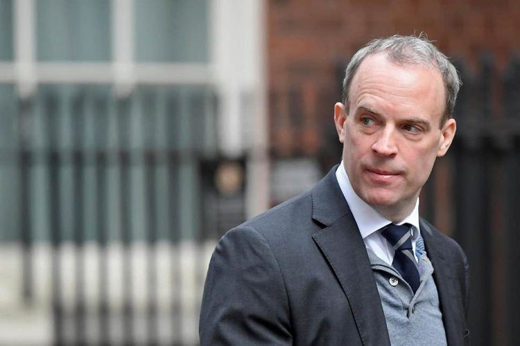UK foreign minister Raab in charge, will decide on lockdown measures