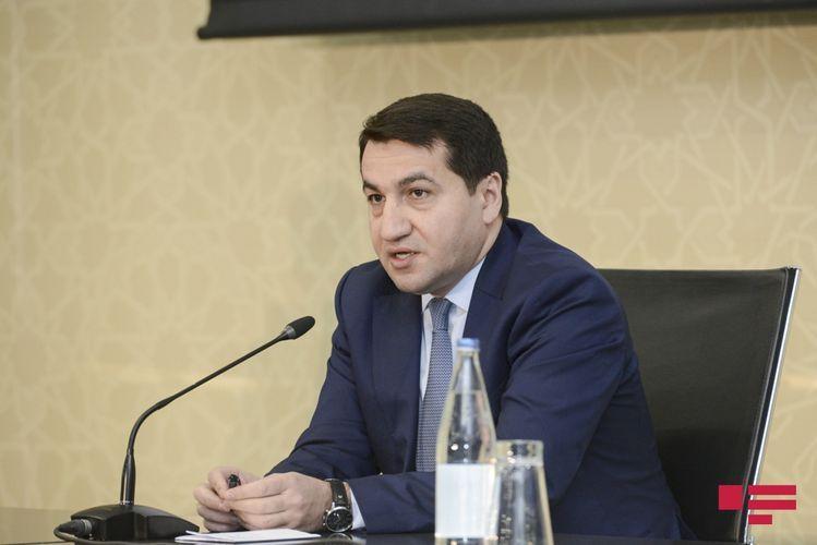 "Hikmet Hajiyev: ""120 states support Azerbaijan"