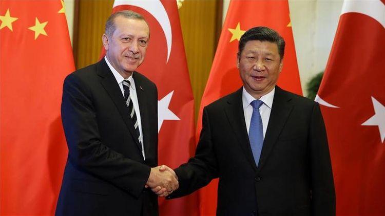 Presidents of Turkey, China make phone call